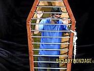 Twink Cage Bondage