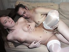 Teen Beauty In Nylon Stockings Is A Real Sex Expert