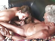Never Seen This Before - Old Man, Teen And Dildo