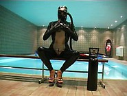 Breathplay By The Pool - Gasmask