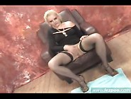 Blonde Masturbates Herself And Pukes