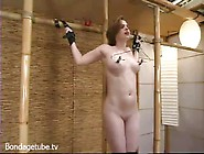 Babydoll Gets Tied And Used Up In Bondage