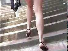 Upskirt At Holiday In Italy