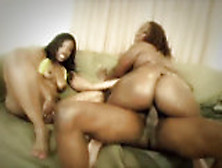 Skyy Black And Cherokee D Ass Sharing An Anal...