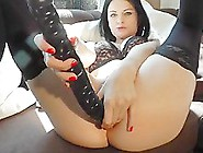 Junior Babe With Big Analdildo