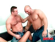 Bisexual Foreplay With Two Muscular Men