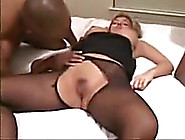 Delightful Wife On Phone With Hubby During Cuckold Session