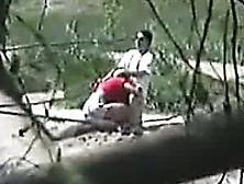 I Filmed A Horny Couple Enjoying A Quick Blowjob On The Wild Bea
