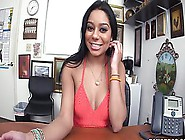 Thick And Curvy Ebony Girl Goes In To The Pawn Shop To Earn Some