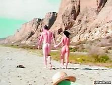 Nude Beach S9 With Luna Blanca - Pornmaki. Com. Mp4