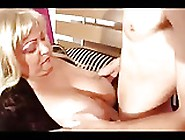 Blonde Mature Mom And Young Boy