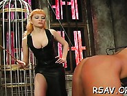 Lascivious Slut Gets Her Ass Slapped Red While Being Bounded