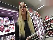 German Girl Fucking At The Supermarket