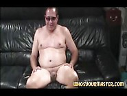 Chubby Wife Dominates Fat Old Man