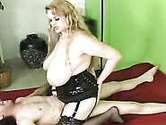 Lewd Busty Blonde Bbw Gives Tit Fucking To My Oversized Dick