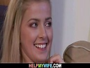 Young Wife Gets Pleased By A Stranger