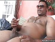 Cool Black Dude Jacks Off His Cock