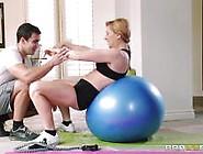 Sensual Milf Sasha Sean Sucks The Cock Of Her Personal Trainer