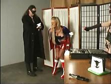 Pretty Super Hero Gets Attack