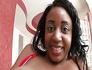 Ebony Slut With Big Boobs Fucks White Cock In Many Poses