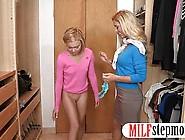 Horny Milf Cherie Deville Shares Cock With Teen Dakota Skye