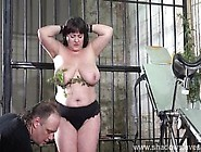Extreme Amateur Bdsm Of Whipped And Stinging Nettle Tortured Bbw