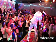 Frisky Girls Get Entirely Crazy And Stripped At Hardcore Party