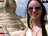 Hot Travel Sex Movie From Egypt Outdoor Sex Scene At The Pyramid