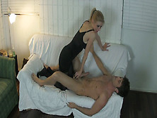 Vanessa Vixon Plays A Ballbusting Game With Lance Hart - Meanhan
