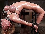 Big Tits Bondage Slave Drilled Lovely With Toy In Bdsm Porn
