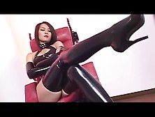 Mistress Kim With Is Slave