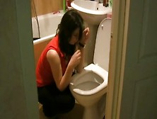 Sick Girls Vomit Puke Puking Vomiting Gagging Barf