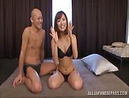 Japanese Beauty Kokone Mizutani Enjoys Getting Fondled And Fucke