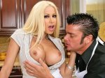 Gina Lynn Butters Up Her Tits For A Good Cock