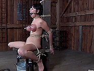 Bondage Cowgirl Big Ass Getting Spanked In Bdsm Porn