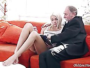 Nasty Old Teacher Is Eager To Fuck His Adorable Student,  While N