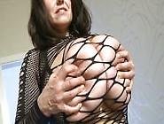 Milena Velba Fishnet Stockings