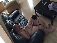 Cock Hungry Wife Sucking Off Her Husband Gets Cum On Face Humili
