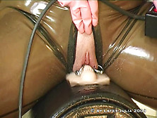 Ride In Latex Catsuit