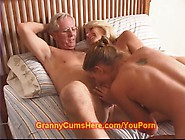 Granny And Grandpa Fuck A Cute Teen Girl