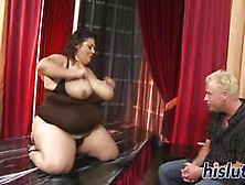Chubby Bint Rides On A Thick Member