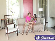 Stepmom Rio Lee Caught Katt Dylan Sucking Off Her Bfs Shaft