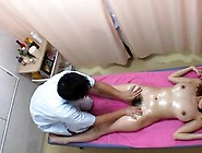 Beautiful Japanese Teen Get Massaged And