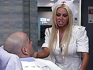 Naughty Milf Hot Ass Nurse Nikita Von James In A Hardcore Cock R