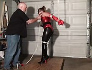 Superheroine In Strappado Peril