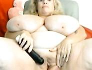 Big Tittied Chubby Granny Masturbation