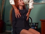 Redhead Mom Abused By The Neighbour