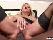 Stunning Mature Lady Rides A Huge Black Cock