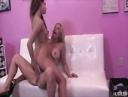 Juicy Big Boobed Lesbians Sara Luv & Britney Foster Pussy Fu
