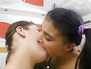 Hot Brazilian Girls Hot Deep Kissing 4